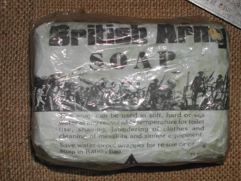 Soap....